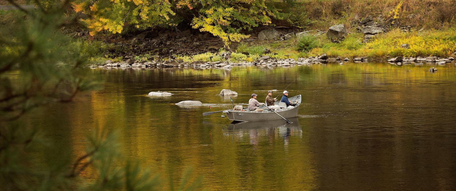 steelhead river fishing